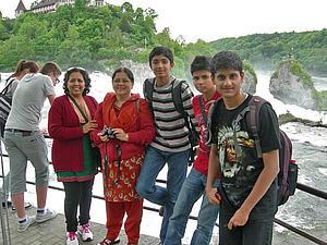 Gruppe SETU aus Indien in Radolfzell
