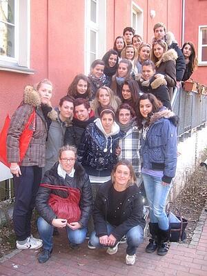 I.T.C.G. Aulo Ceccato-Schulklasse aus Italien zu Gast beim Carl Duisberg Centrum Berlin